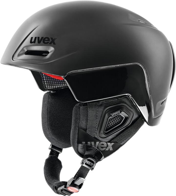 jimm octo+ Helmet black mat-black shiny Ski- & Snowboardhelme