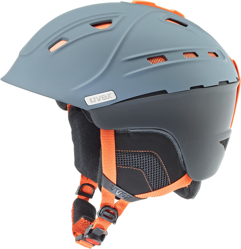 p2us Helmet grey-orange mat Ski- & Snowboardhelme
