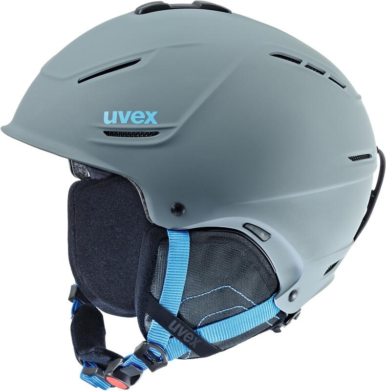 p1us Helmet grey-blue mat Ski- & Snowboardhelme