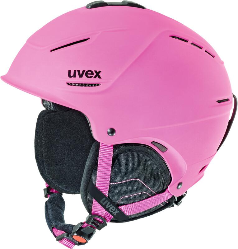p1us Helmet pink mat Ski- & Snowboardhelme