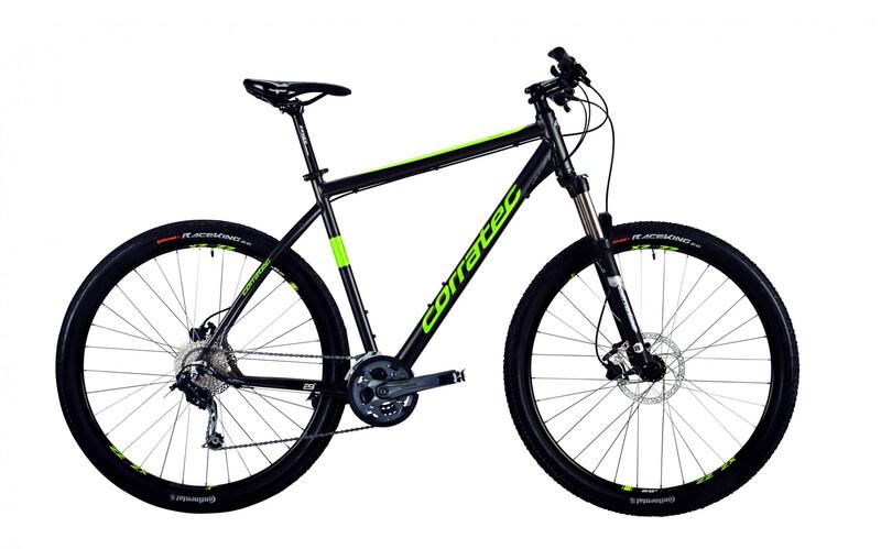 2. Wahl Corratec MT Cross Base Gent dark grey matt/lime green/wh 2. Wahl Bikes