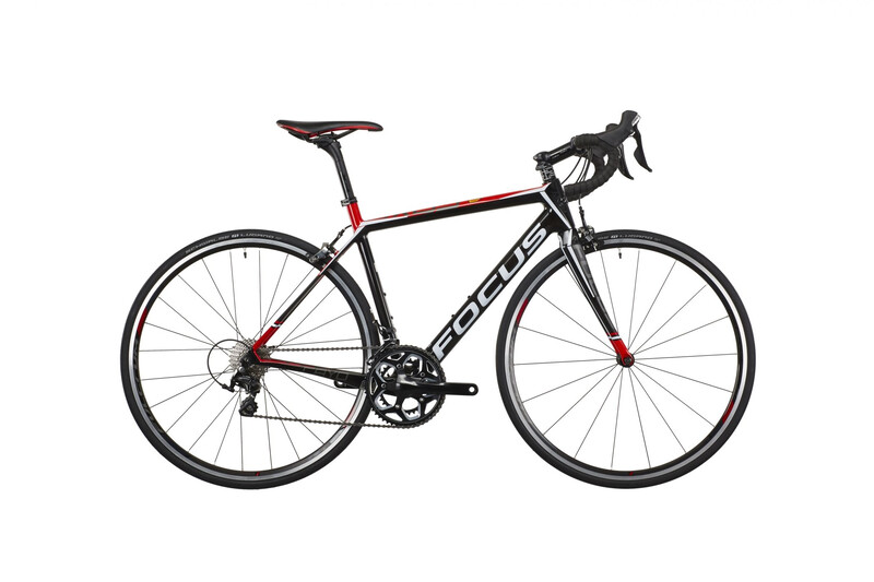 2. Wahl: FOCUS Bikes Cayo 105 Mix 22G 28 carbon/red/white Roadbikes