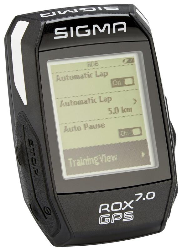ROX 7.0 GPS Fahrradcomputer schwarz Fahrradcomputer