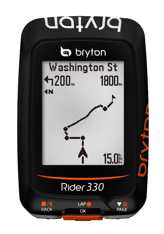 Rider 330 C GPS Fahrradcomputer+Trittfrequenz GPS Geräte