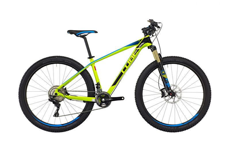 2. Wahl: Cube Reaction GTC SL 2x kiwi'n'blue 2. Wahl Bikes