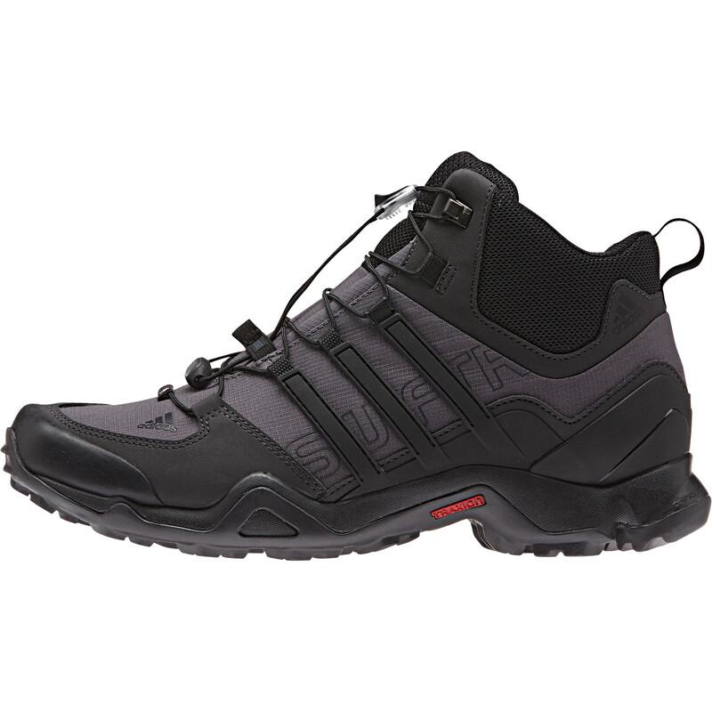 Terrex Swift R Mid Shoes Men granite/coreblack/shadowblac 40 2/3 Trekkingschuhe