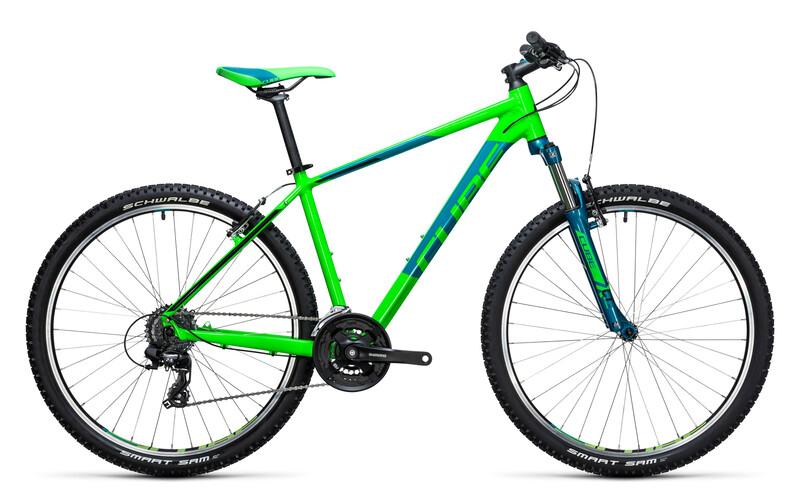 Aim 27.5 green'n'blue Jugendfahrräder