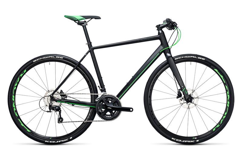 SL Road Race black'n'flashgreen Crossräder
