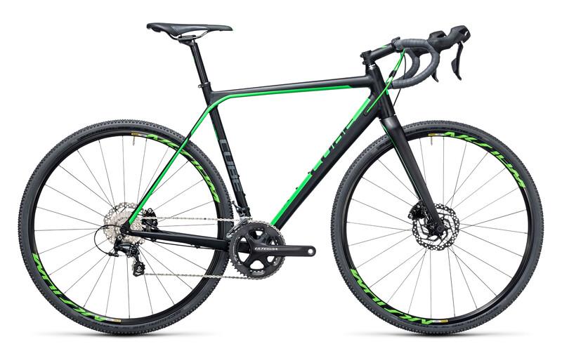 Cross Race SL black'n'green Rennräder