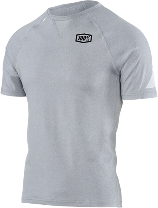 Relay Tee Men silver heather M T-Shirts