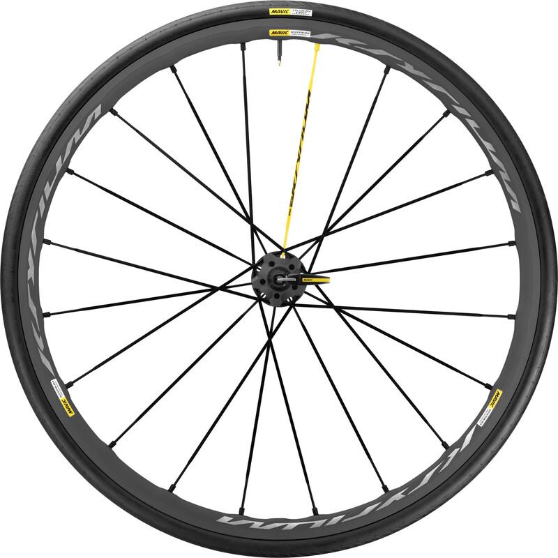 Ksyrium Pro Exalith Laufrad HR Shimano 25 schwarz Rennrad Hinterräder