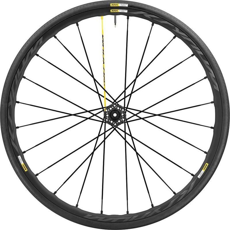 Ksyrium Pro Disc 17 Laufrad VR 25 Intl schwarz Rennrad Vorderräder