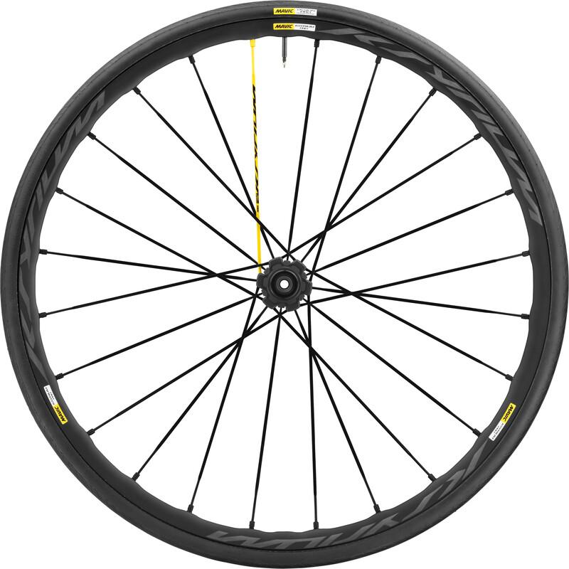 Ksyrium Pro Disc 17 Laufrad HR Shimano 25 Intl schwarz Rennrad Hinterräder