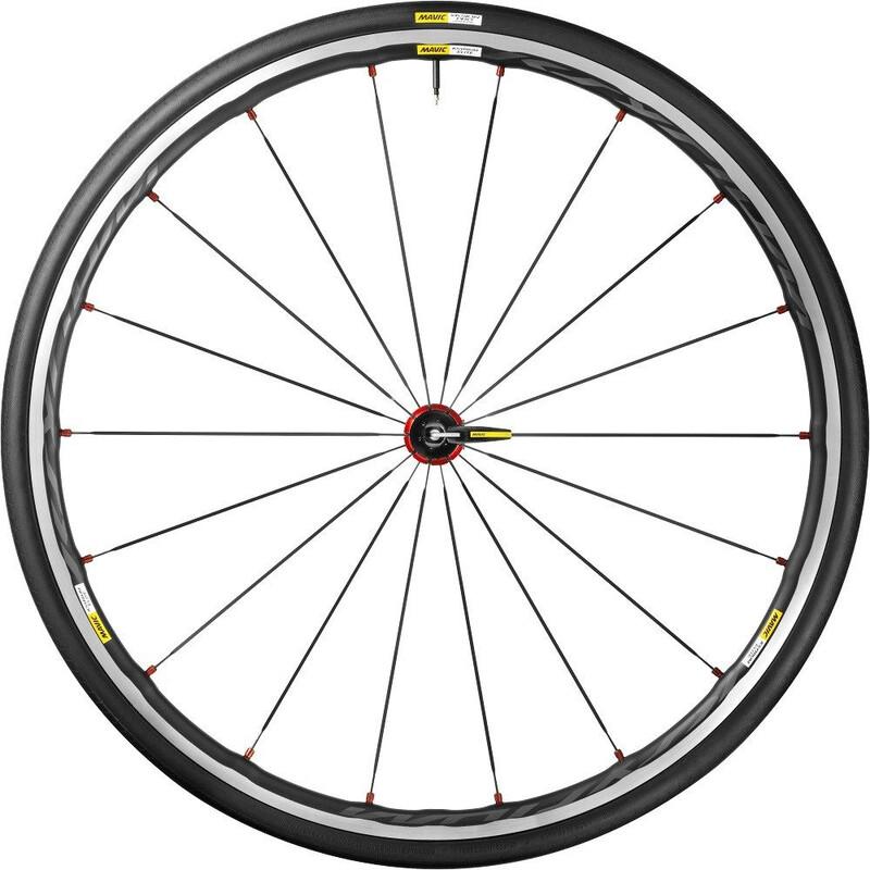 Ksyrium Elite LRS Shimano 25 rot Rennrad Laufradsets