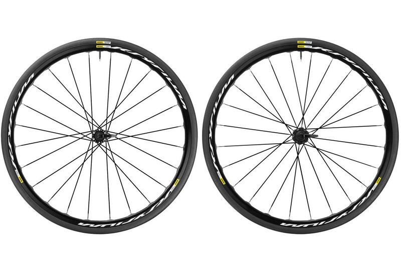 Ksyrium Disc 17 LRS Shimano 25 9mm Intl schwarz Rennrad Laufradsets