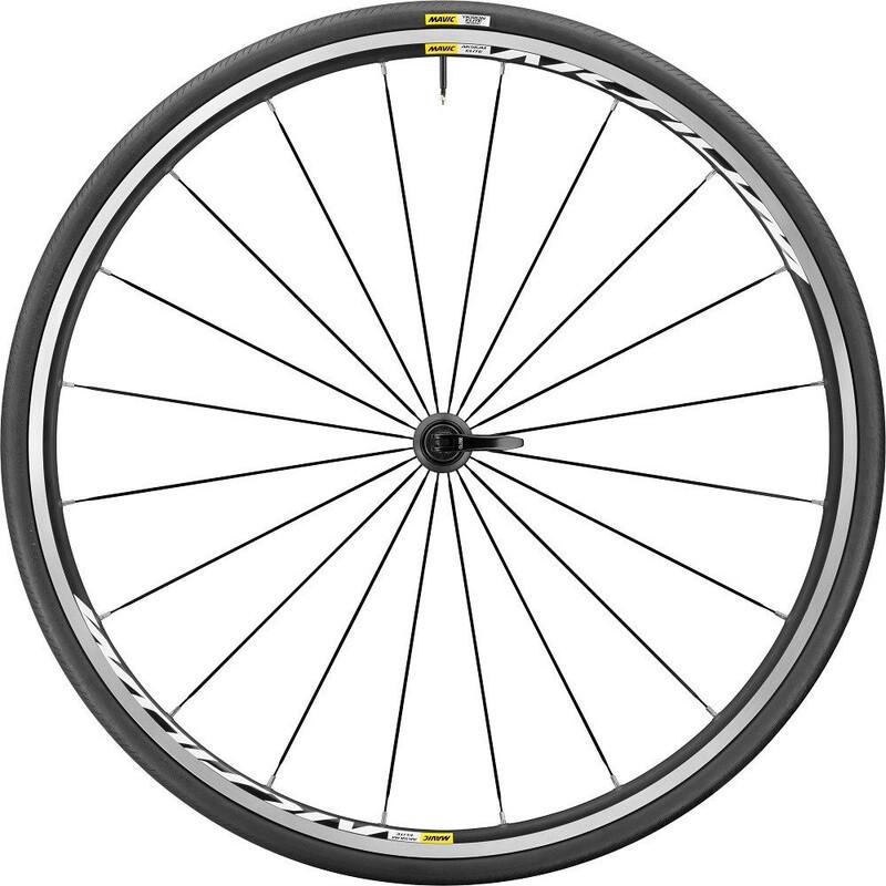 Aksium Elite 17 VR 25 schwarz Rennrad Vorderräder