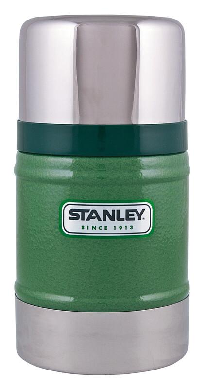 Classic Vakuum Food-Container 500ml Hammerschlag grün Becher, Tassen & Gläser