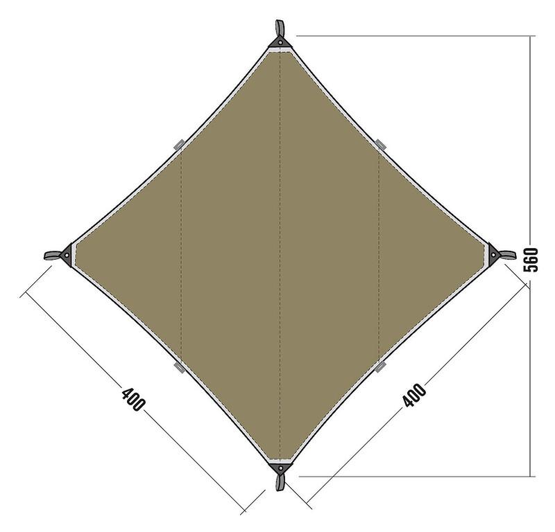 sonnensegel 2 x 3 preisvergleich die besten angebote online kaufen. Black Bedroom Furniture Sets. Home Design Ideas