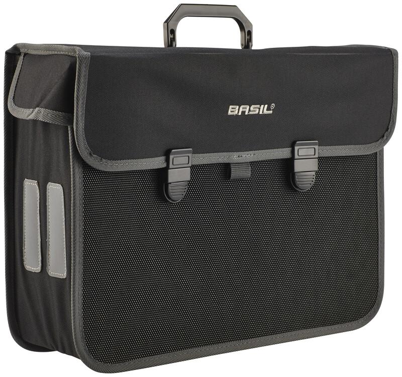 Malaga Seitentasche 17 L schwarz 2017 Gepäckträgertaschen