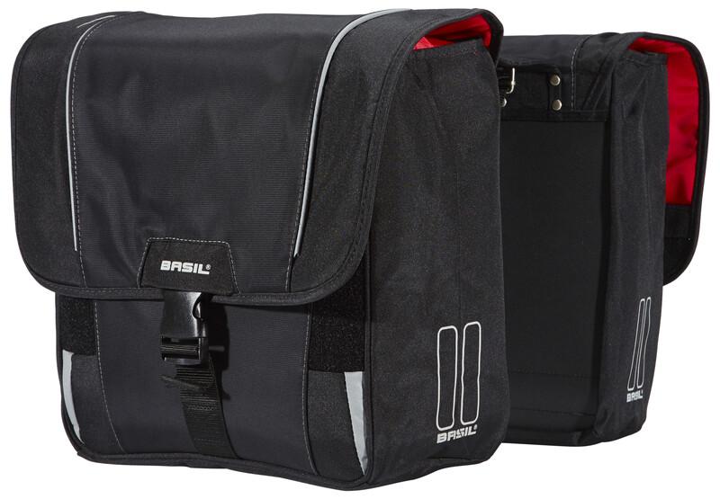 Sport Design Doppeltasche schwarz 2017 Gepäckträgertaschen