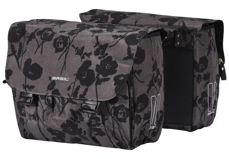 Elegance Doppeltasche mondstein grau 2017 Gepäckträgertaschen