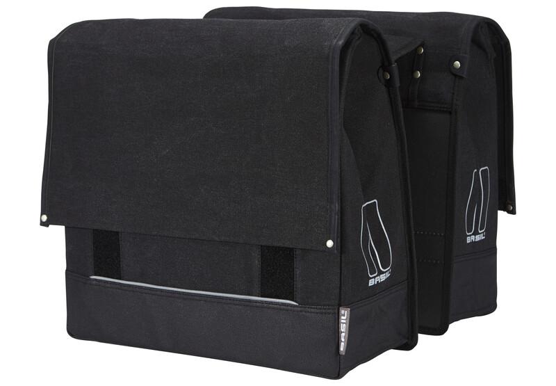 Urban Fold Doppeltasche schwarz 2017 Gepäckträgertaschen