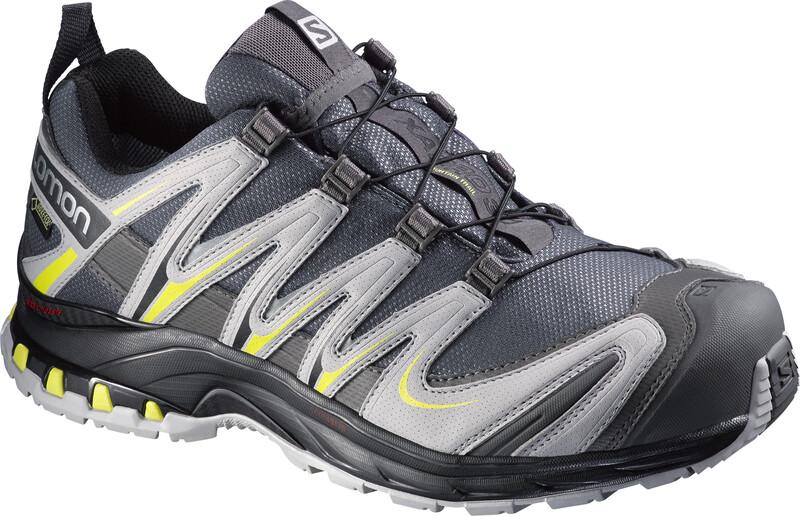 XA Pro 3D GTX Trailrunning Shoes Men autobahn/aluminium/corona yellow 42 2/3 Running Schuhe