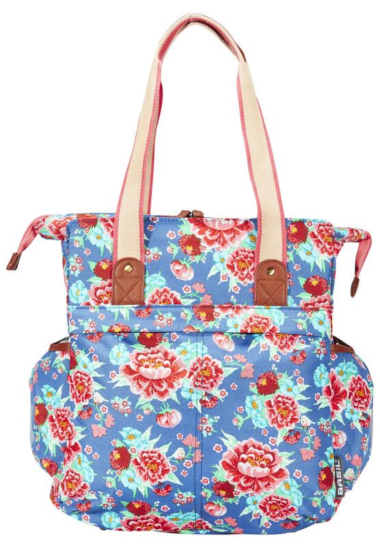 Bloom Shopper indigo blau 2017 Gepäckträgertaschen