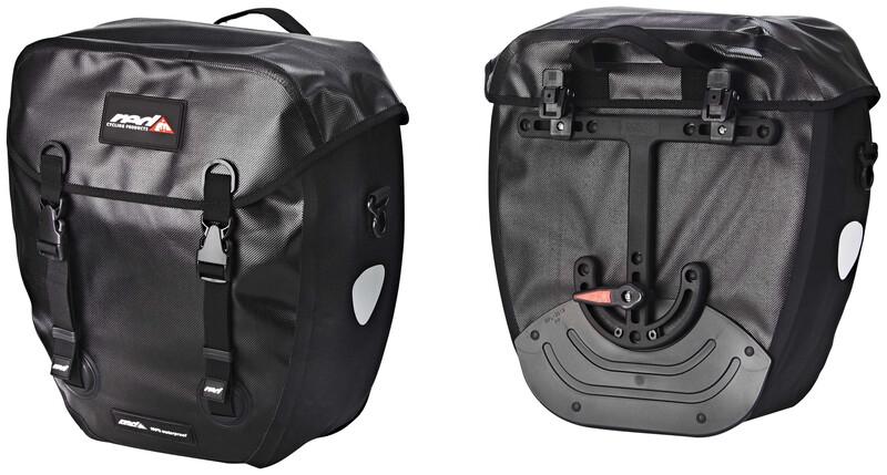 WP100 Pro II Carrier Bag Black 2017 Gepäckträgertaschen