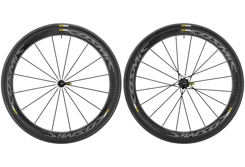 Cosmic Pro Carbon Exalith 17 LRS Shimano 25 schwarz Rennrad Laufradsätze
