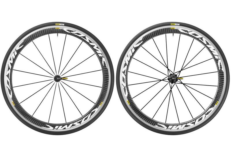 Cosmic Pro Carbon 17 LRS Shimano 25 weiß Rennrad Laufradsätze