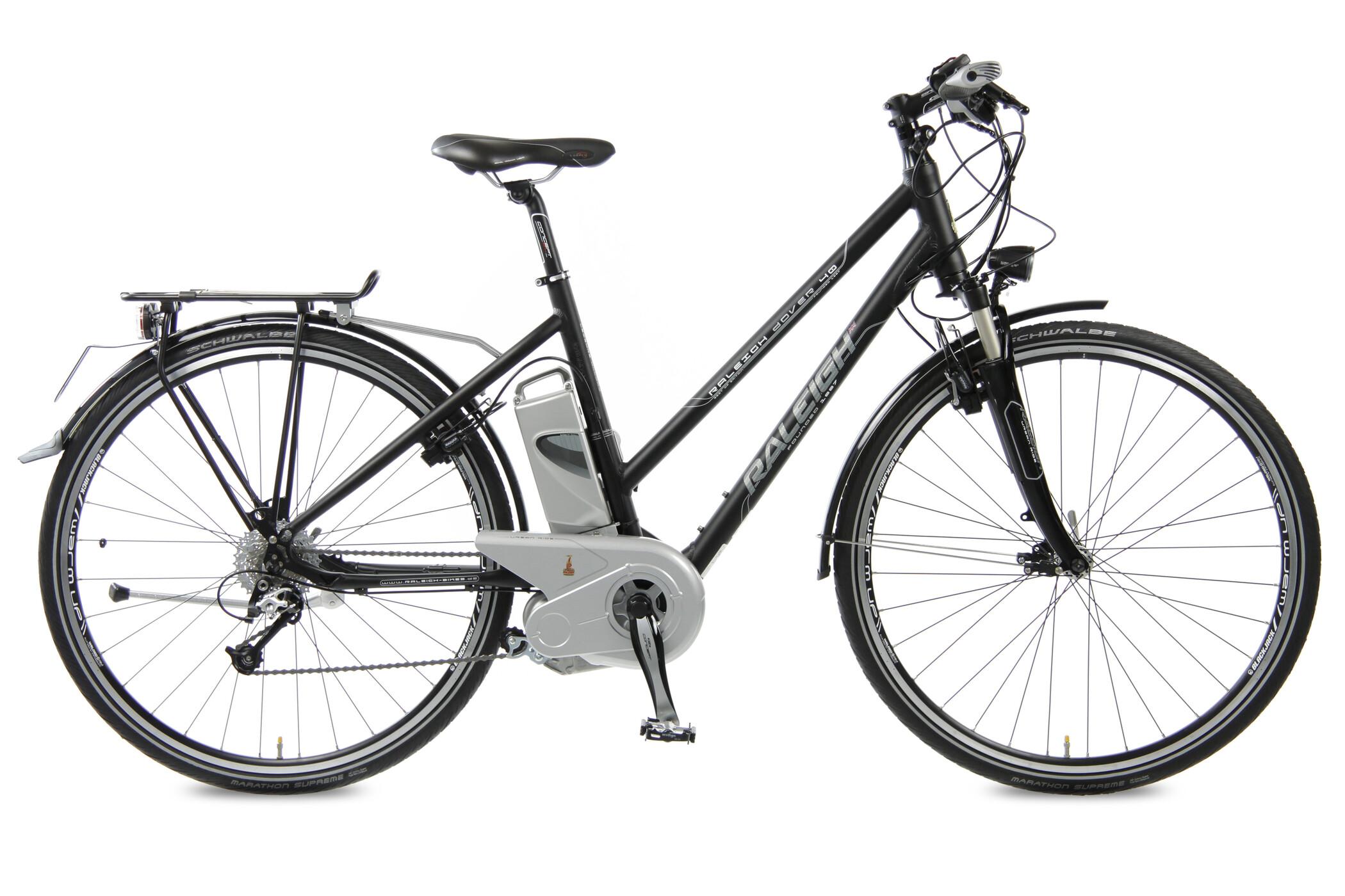 raleigh dover 40 damen magicblack matt sport e bike g nstig kaufen. Black Bedroom Furniture Sets. Home Design Ideas