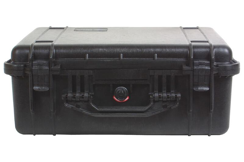 Peli 1550 mit Schaumeinsatz 2017 Plastikboxen