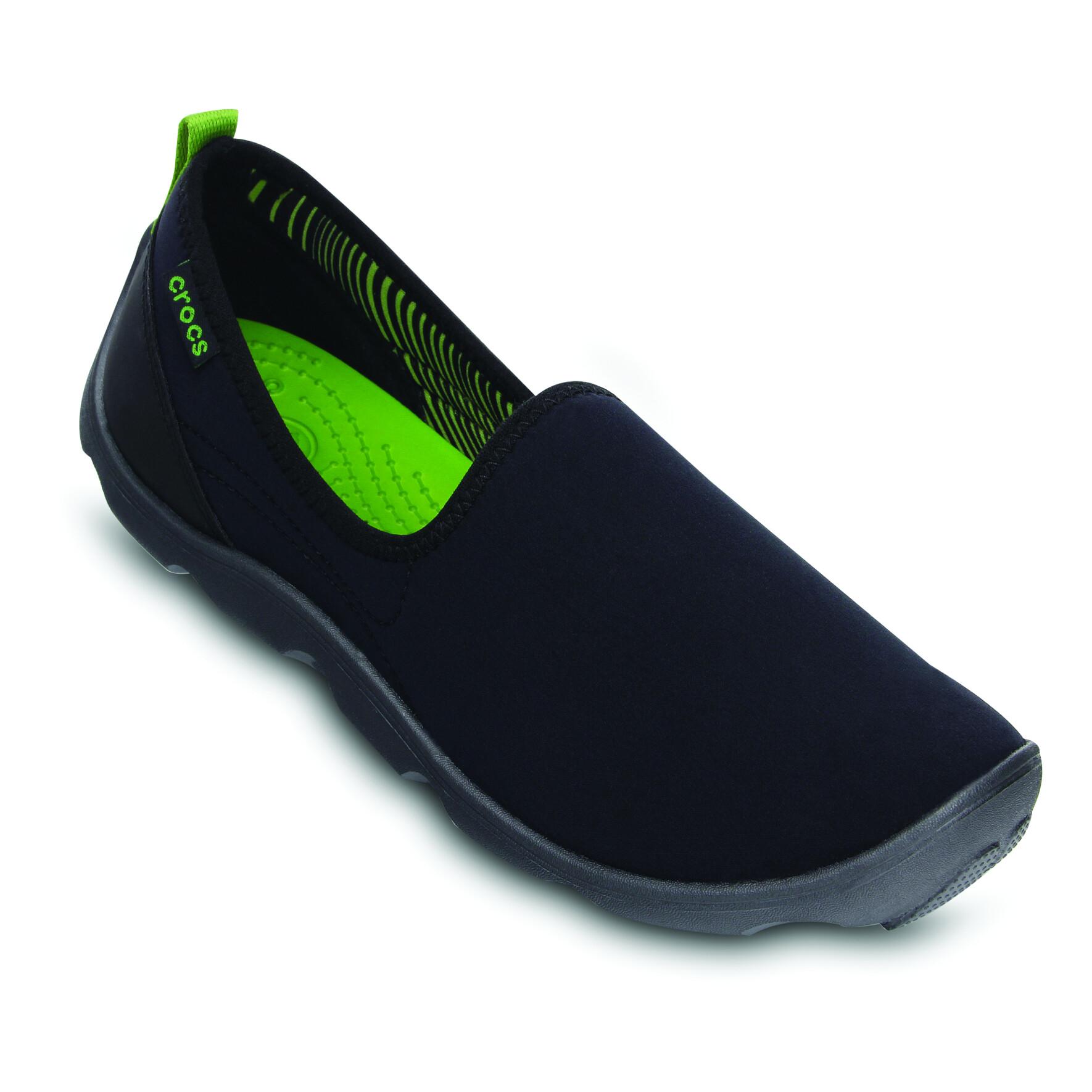 Crocs Duet Busy Day Skimmer Women's black/graphite 34-35 reisestiefel~freizeitschuhe~freizeitstiefel~schuhe~stiefel~bekleidung~outdoor~outdoorbekleidung~outdoorschuhe~outdoorstiefel