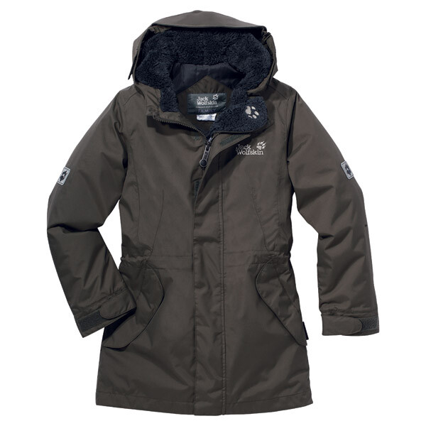-20% Rabatt Jack Wolfskin Girls 5th Avenue granite 2012 104 grau Outdoorbekleidung Outdoorjacke Daunenjacke & Winterjacke 104 -20% Rabatt