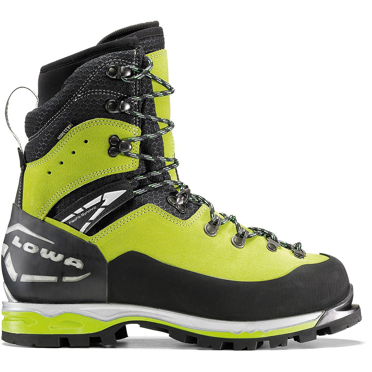 Lowa Weisshorn GTX Men limone/schwarz 44,5 winterstiefel~bergschuhe~Wanderschuhe~Stiefel~Bekleidung~Outdoor~outdoorbekleidung~outdoorstiefel