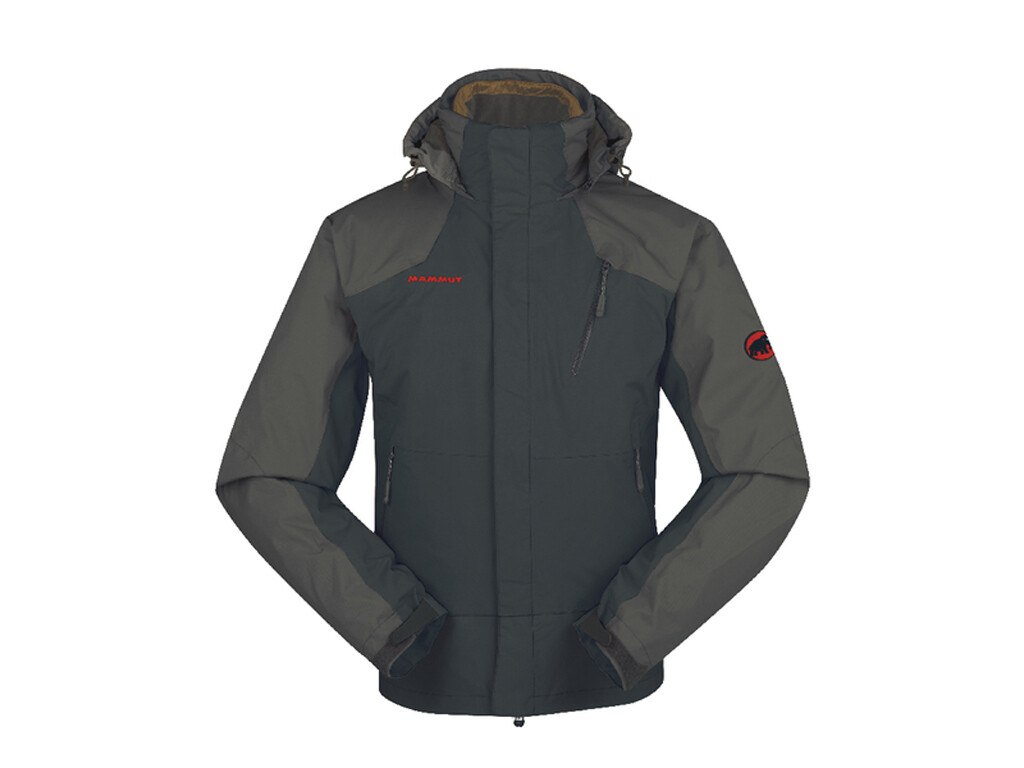 Mammut Kinabalu 4-S Jacket Men black-graphite 2012 L grau Outdoorbekleidung Outdoorjacke Doppeljacke L
