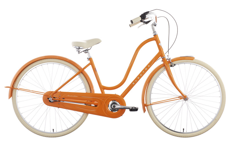 "Electra Amsterdam Original 3i Ladies orange unisize (28"") 2017 Cityräder, Gr. u"