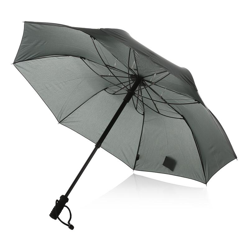 teleScope handsfree Regenschirm oliv Regenschirme