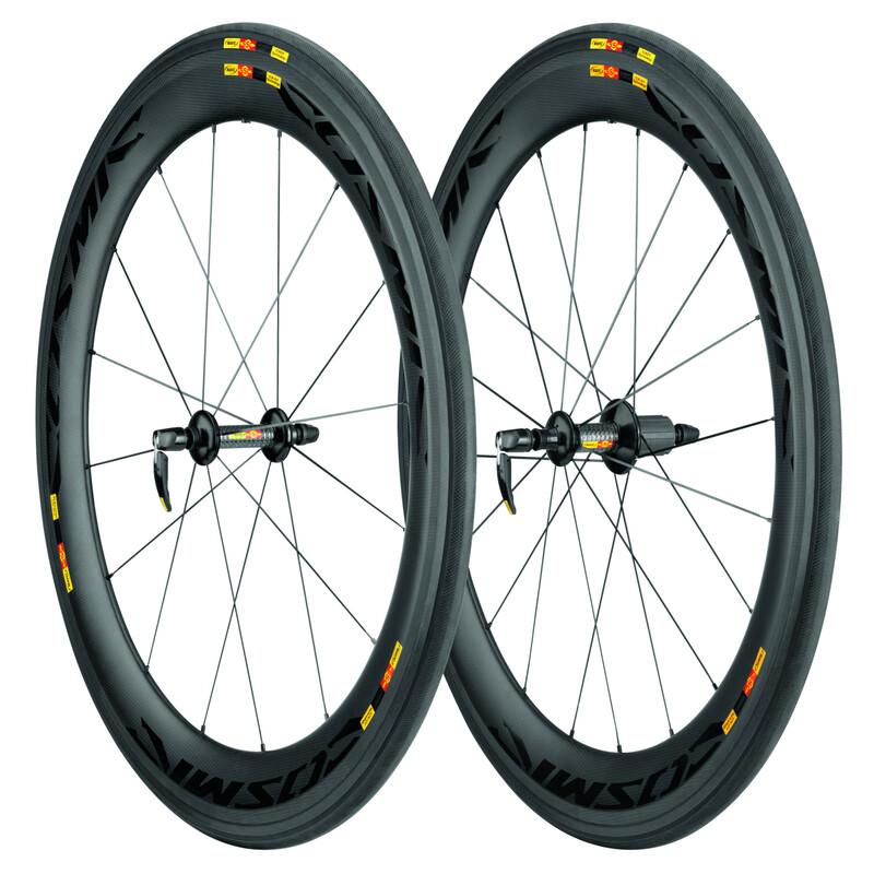 Cosmic CXR 60 Laufradsatz WTS Tubular Shimano M11 schwarz Laufräder & Naben