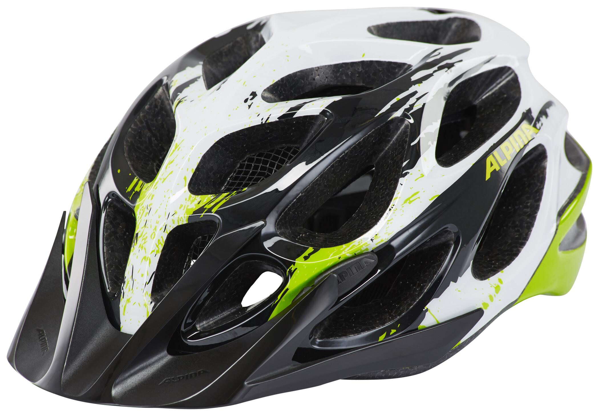 Alpina Mythos 2 0 Helmet black white green