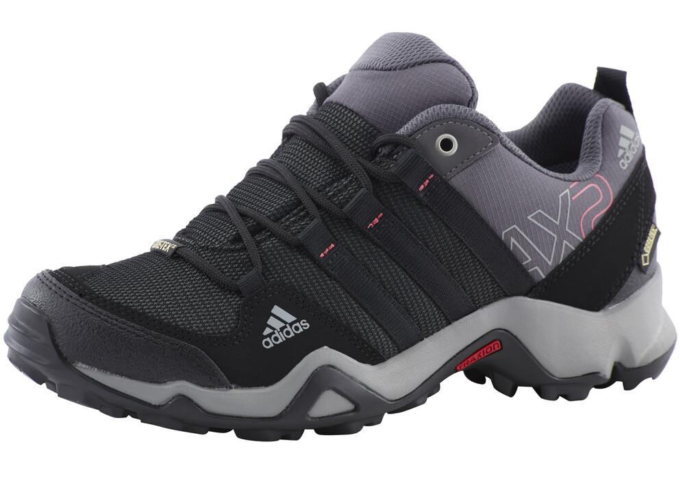 adidas ax2 gtx chaussures trekking femme noir rose sur. Black Bedroom Furniture Sets. Home Design Ideas
