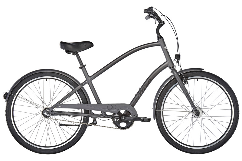 Electra Townie Original 3i EQ men's satin graphite unisize 2017 Cityräder, Gr.