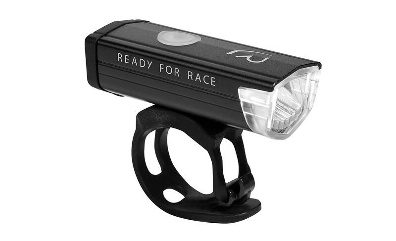 RFR Power 300 Frontscheinwerfer white LED USB schwarz 2017 Sicherheitslampen