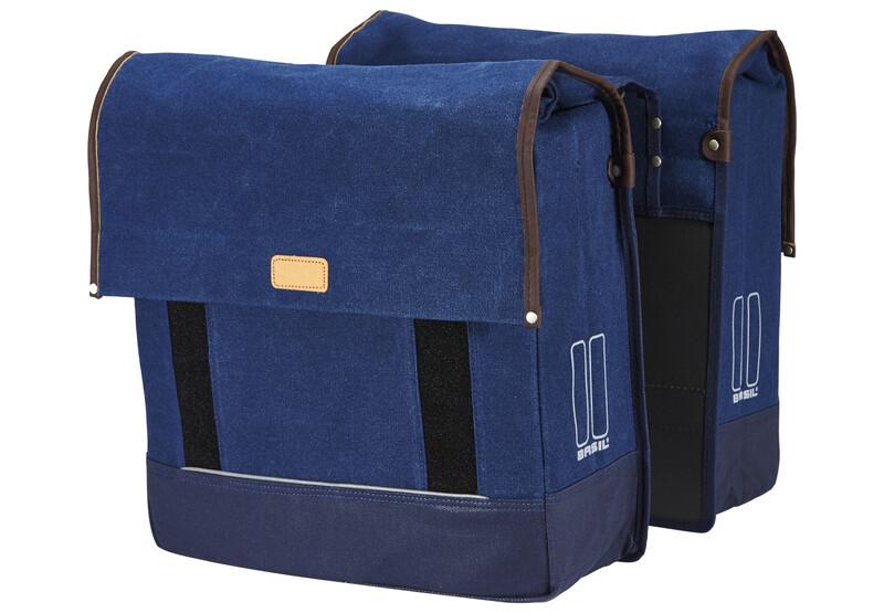 Urban Fold Doppeltasche dunkel denim blau 2017 Gepäckträgertaschen
