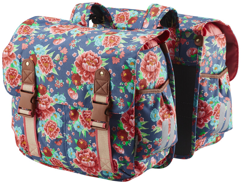 Bloom Doppeltasche indigo blau 2017 Gepäckträgertaschen