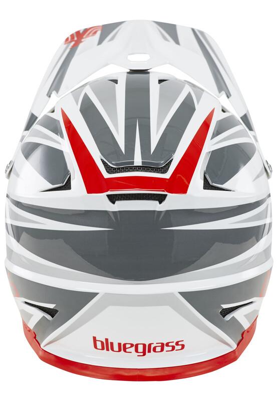 bluegrass Intox Fullface-Helmet black/red/white 60-62 cm 2017 Fahrradhelme, Gr.