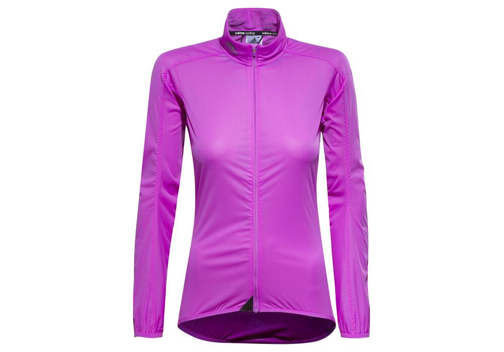Adidas infinity veste coupe vent femme rose boutique de v los en ligne - Veste coupe vent adidas femme ...