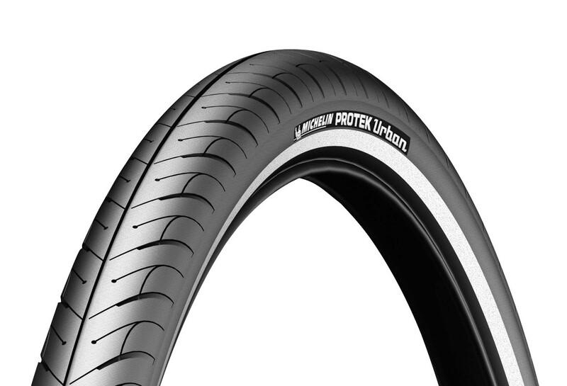 """Michelin Protek Urban Fahrradreifen 20"""" Reflex 2017 Trekking & City Reifen, Gr."""