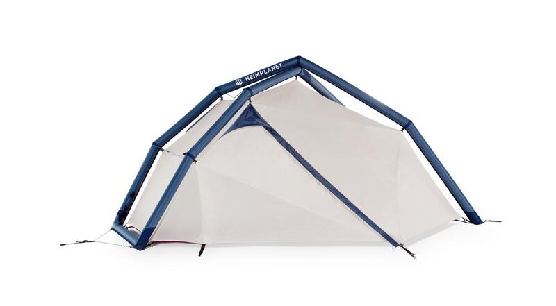 Heimplanet Fistral Tent insignia blue/seedpearl sand/dark purple 2017 Aufblasbar